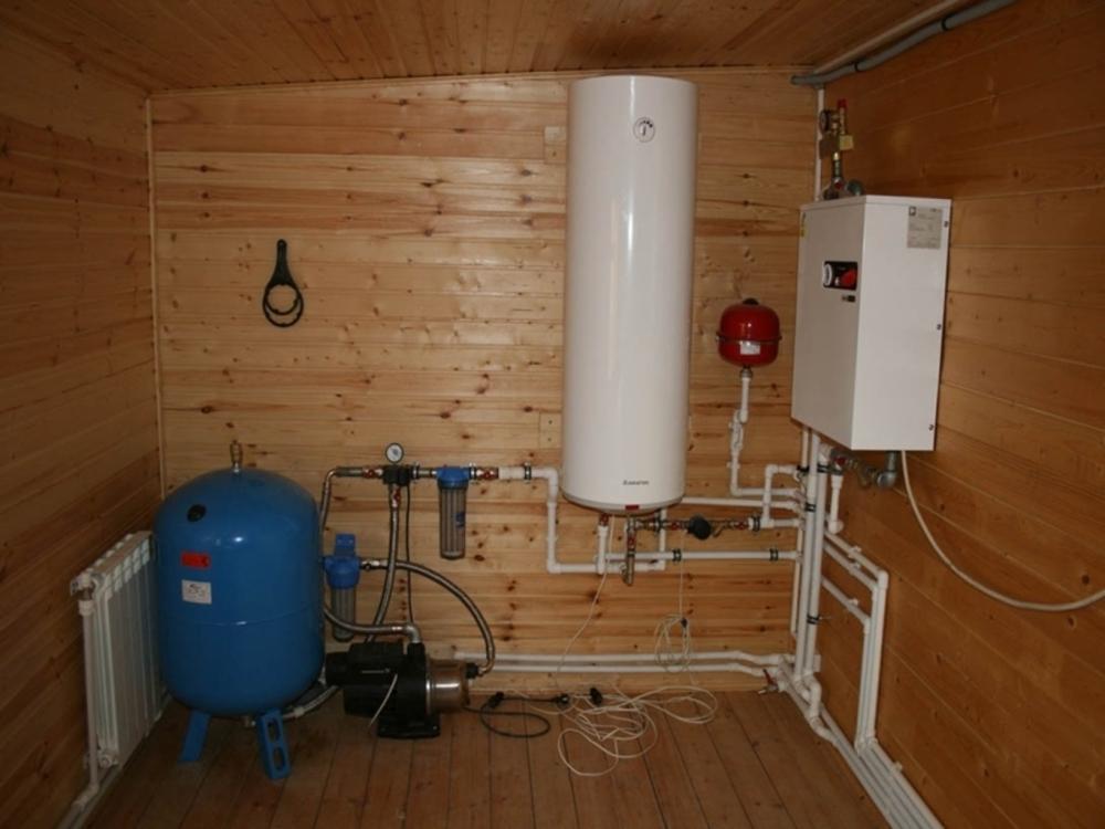 Водопровод в частном доме от центральной