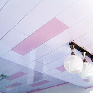 Подвесные потолки из пластика